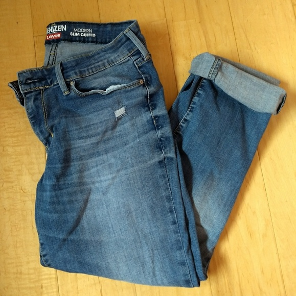 70c89f79 Levi's Jeans | Denizen Levis Modern Slim Cuffed | Poshmark